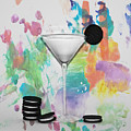 Oreo Happy Hour Watercolor Bg by Bill Cannon