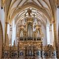 Organ Of The Gothic-baroque Church Of Maria Saal by Nicola Simeoni