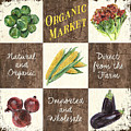 Organic Market Patch by Debbie DeWitt