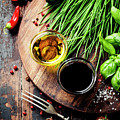 Organic Vegetables And Spices by Natalia Klenova