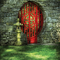 Orient - Door - The Moon Gate by Mike Savad