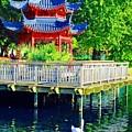 Orient Swan Pagoda by Jost Houk