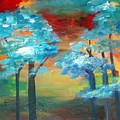 Oriental Forest by Maritza Bermudez