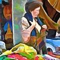 Oriental Merchant by Wayne Pascall