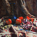 Oriental Still Life by Kateryna Bortsova