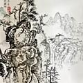 Original Chinese Nature Scene by Steve Ralston