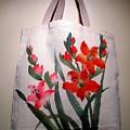 Original Hand Painted Tote Bag by Anita Lau