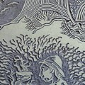 Original Linoleum Block Print by Thor Senior