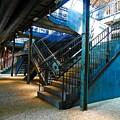 Original Old Stairs by Elisabeth Derichs