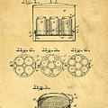 Original Patent For Canning Jars by Edward Fielding