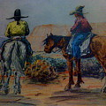 Original Western Artwork 23 by Smart Healthy Life