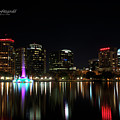 Orlando Beautiful Lake Eola by Mike Fitzgerald