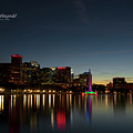 Orlando Beautiful Lake Eola Sunset by Mike Fitzgerald