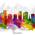 Orlando Florida Cityscape 13 by Aged Pixel