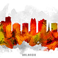 Orlando Florida Cityscape 15 by Aged Pixel