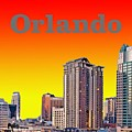 Orlando Skyline by Michael Chatman