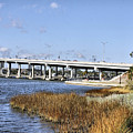 Ormond Beach Bridge by Deborah Benoit