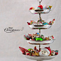 Ornament Compote by Cindy Archbell