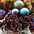 Ornaments 6 by Sarah Loft