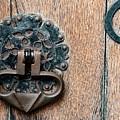Ornate Door Detail by Jean Noren