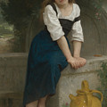 Orphan At The Fountain by William-Adolphe Bouguereau