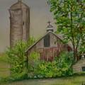 Orth Rd Barn by Judith Maculan