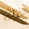 Orville Wright In Wright Flyer 1908 by Science Source