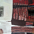 Os1957bo008 Abstract Landscape Of Potosi Bolivia 22.3 X 30.3 by Alfredo Da Silva
