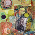 Os1961dc002bo Abstract Landscape Potosi 17x22.25 by Alfredo Da Silva