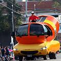 Oscar Mayer Wienermobile by Catherine Sherman