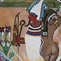 Blaa Kattproduksjoner         Osiris With Goddess Isis And 4 Grandkids by Sigrid Tune