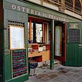 Osteria Al Pesador At The Rialto Market In Venice, Italy by Richard Rosenshein