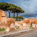 Ostia Antica - Strolling The Decuman by Debra Martz