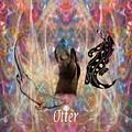 Otter Moon by Rich Baker