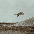 Otto Lilienthal Gliding Experiment by R Muirhead Art