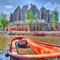 Oude Kerk by Nadia Sanowar