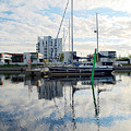 Oulu From The Sea 1  by Jouko Lehto