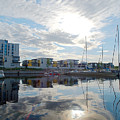 Oulu From The Sea 2 by Jouko Lehto