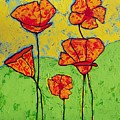 Our Golden Poppies by Donna Marie Art