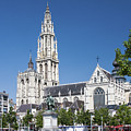 Our Lady Cathedral Antwerp by Sally Weigand