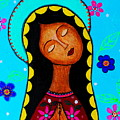 Our Lady Of Guadalupe II by Pristine Cartera Turkus