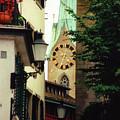 Our Ladys Minster Church In Zurich Switzerland by Susanne Van Hulst