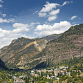 Ouray Colorado Nestled In The San Juan Mountains by Brendan Reals