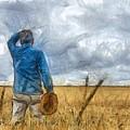 Out In The Fields by Edward Fielding