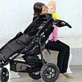 Out Of The Baby Stroller -- A Mother And Daughter by Cora Wandel