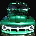 Out Of The Shadows - 51 F100 Ford  by Peter Piatt