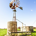 Outback Australian Farm Mill by Jorgo Photography - Wall Art Gallery