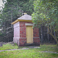 Outbuilding Of Bois Blanc Island Lighthouse by Sally Sperry
