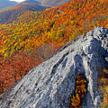 Outcrop Above Parkway by Alan Lenk
