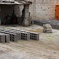 Outdoor Brickyard In Cotacachi by Robert Hamm